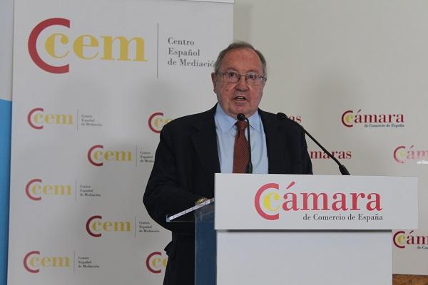 Centro Español de Mediación Cámara de Comercio de España Jose Luis Bonet